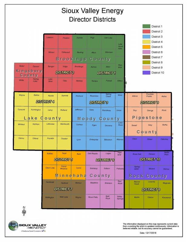 Director Districts Townships